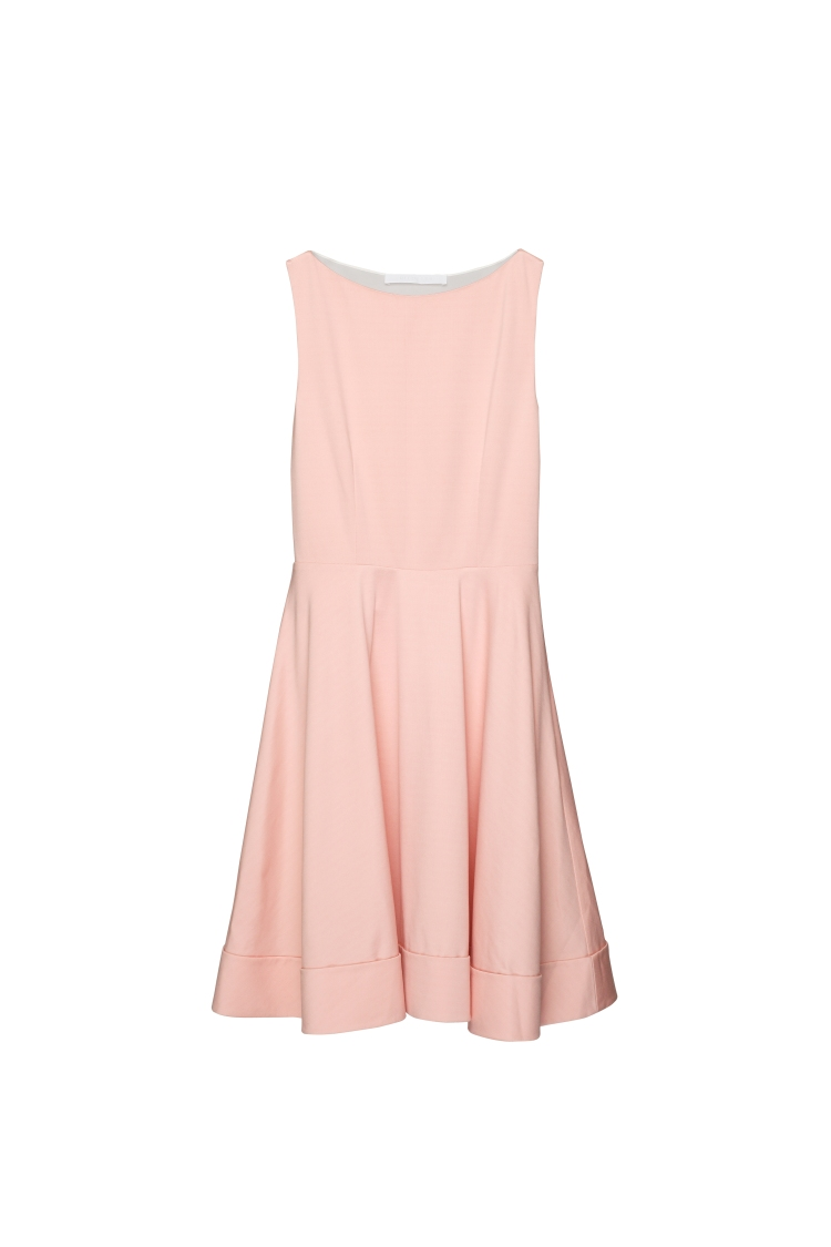 RICOSTRU S_S 2013-BACKLESS A-LINE DRESS(A)