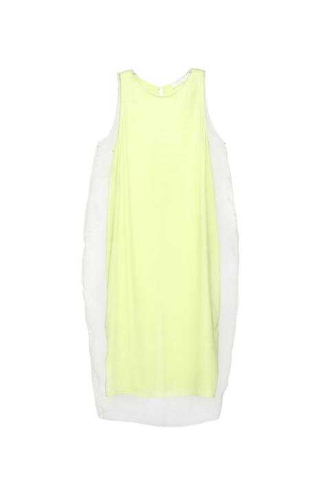 RICOSTRU S_S 2013-DOUBLE LAYER LOOSE-CUT DRESS(A)