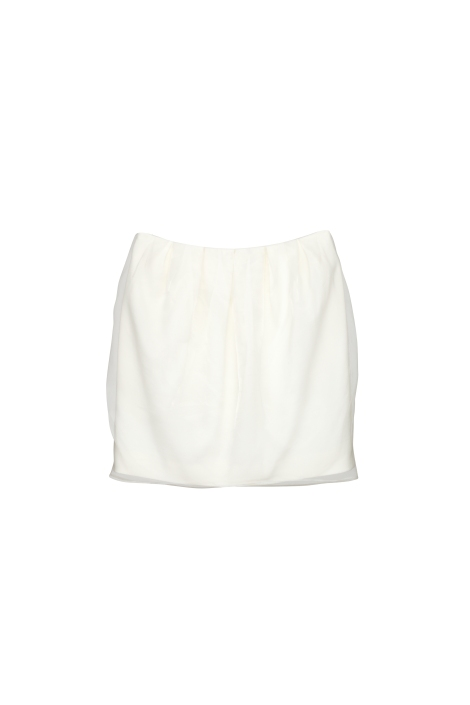 RICOSTRU S_S 2013-DOUBLE LAYER MINI SKIRT(A)
