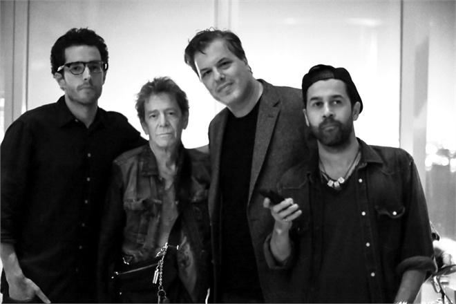 Tom Sarig, Lou Reed, JUS SKE, Daniel Silberman